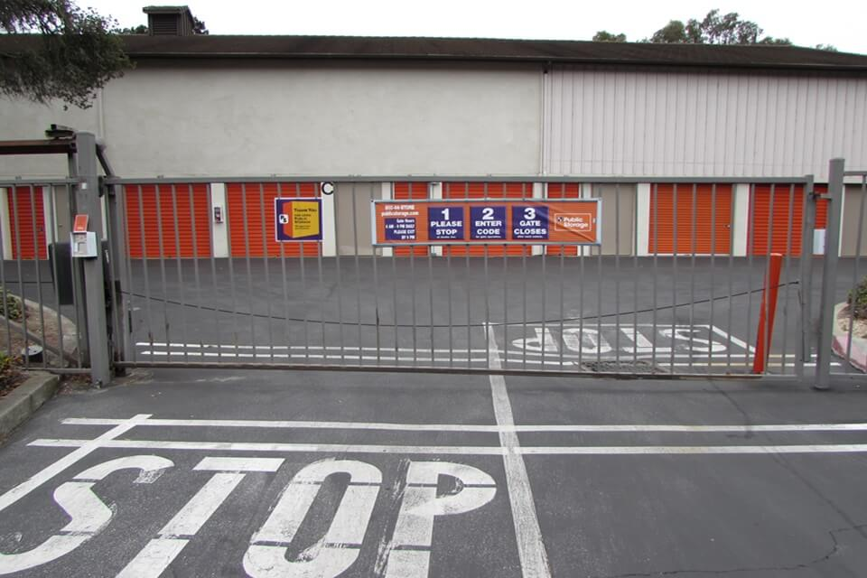 public storage 200 calle del oaks del rey oaks ca 93940 security gate