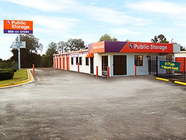 public storage 3687 flat shoals road decatur ga 30034 exterior