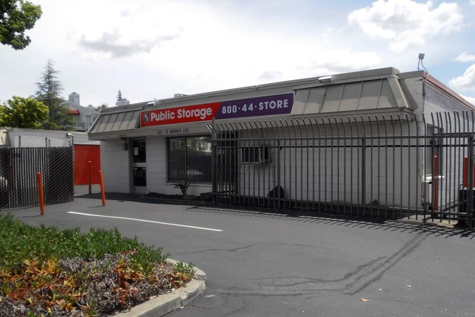 public storage 620 east arques ave sunnyvale ca 94085 exterior