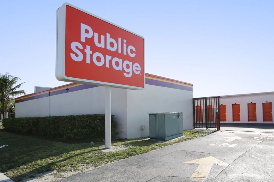 public storage 5850 nw 9th ave ft lauderdale fl 33309 exterior