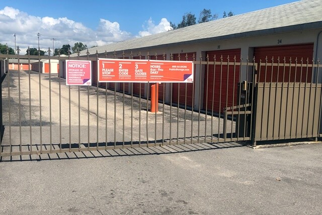 public storage 5036 s cleveland ave fort myers fl 33907 security gatea