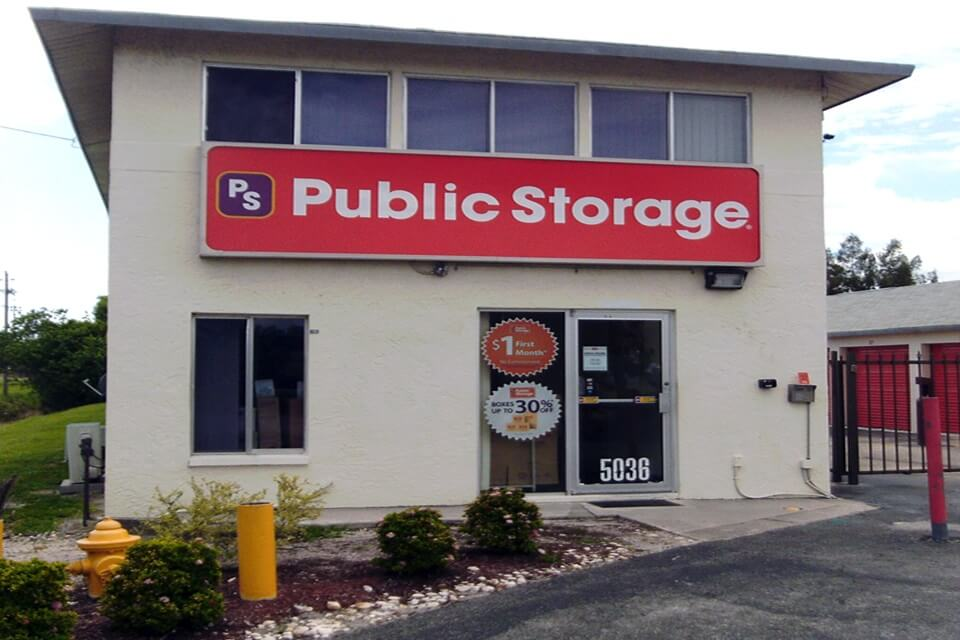 public storage 5036 s cleveland ave fort myers fl 33907 exterior