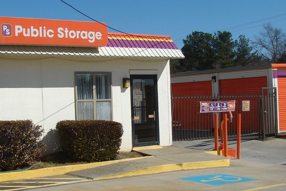 public storage 3003 rutledge road nw kennesaw ga 30144 exterior