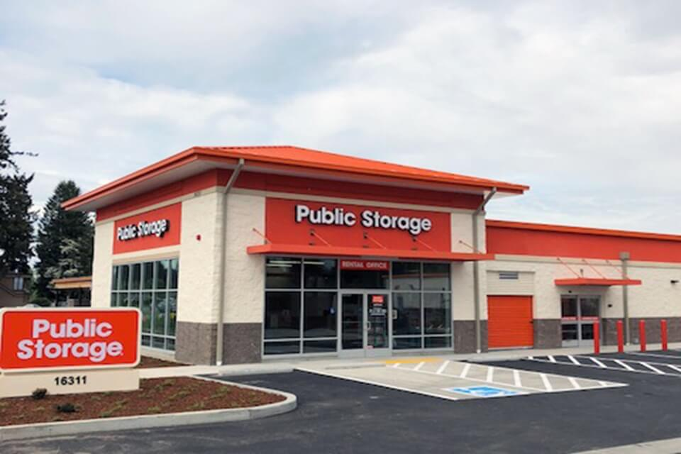 public storage 16311 meridian ave e puyallup wa 98375 exterior