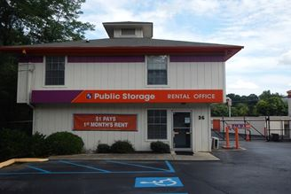 public storage 36 pine knoll drive greenville sc 29609 exterior 1
