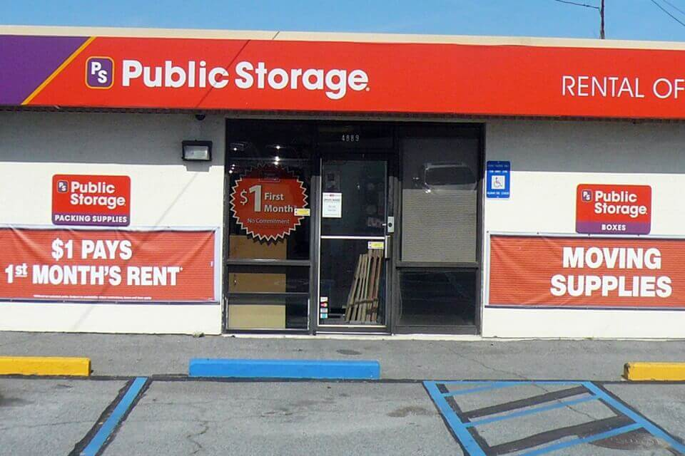public storage 4889 old dixie hwy forest park ga 30297 exterior