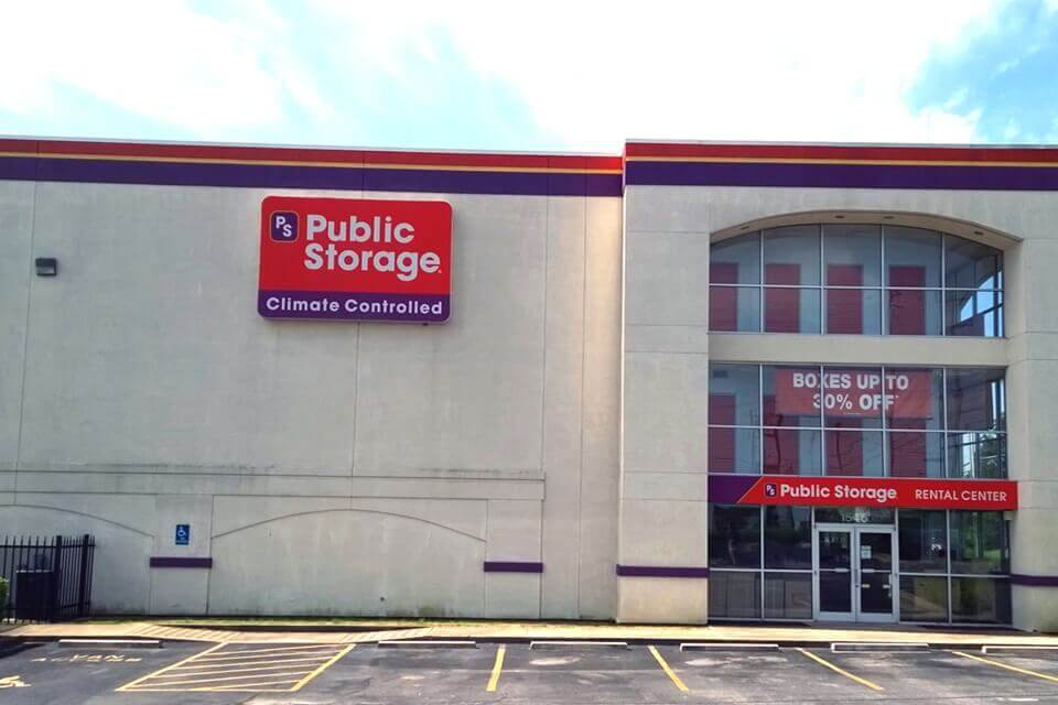 public storage 1546 n germantown pkwy cordova tn 38016 exterior
