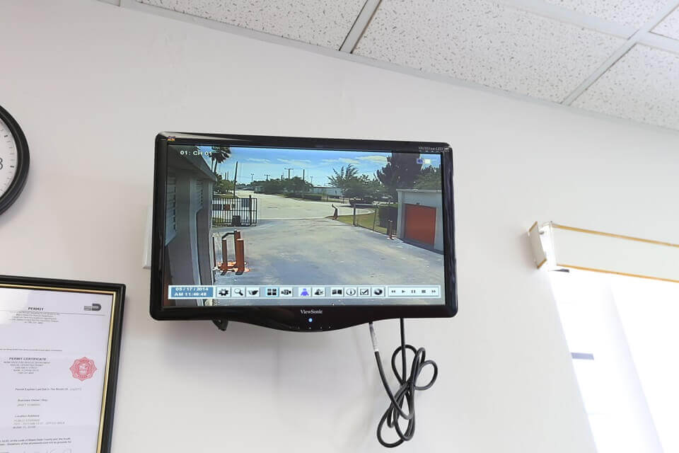 public storage 7511 nw 73rd street miami fl 33166 security monitor