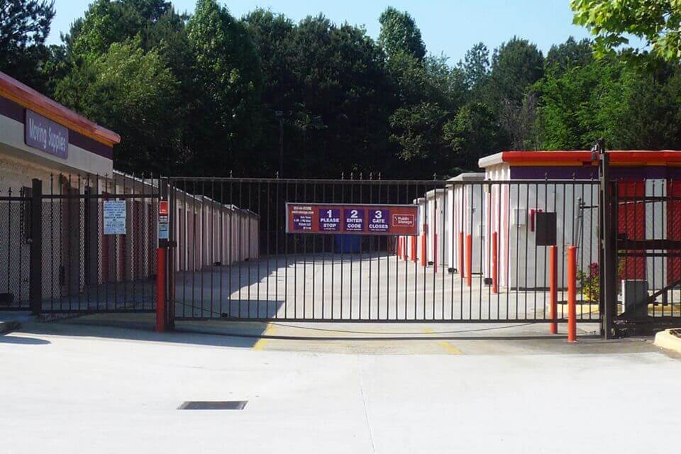 public storage 1471 forest parkway lake city ga 30260 security gate