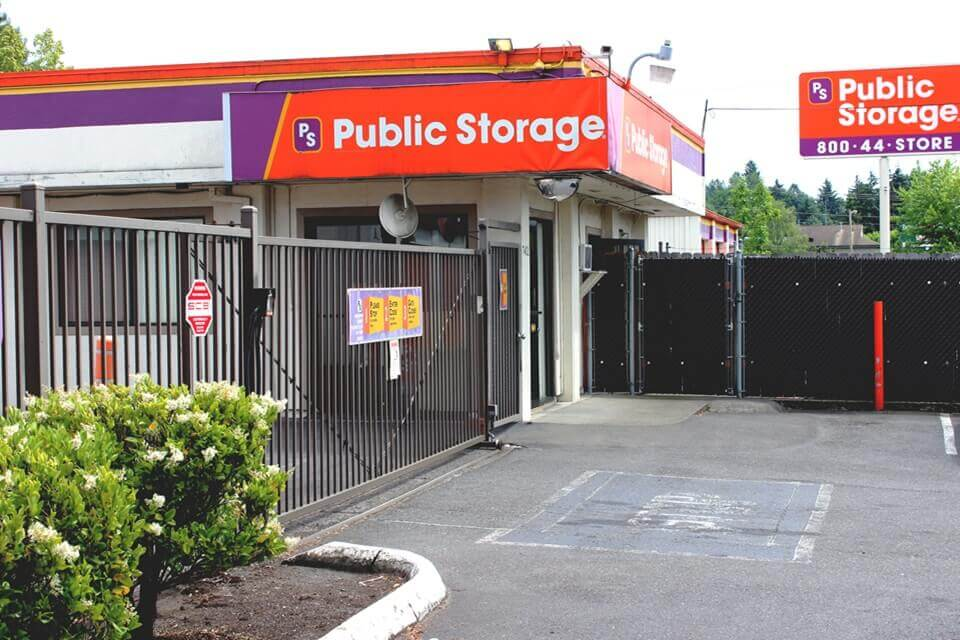 public storage 7402 se 92nd ave portland or 97266 exterior
