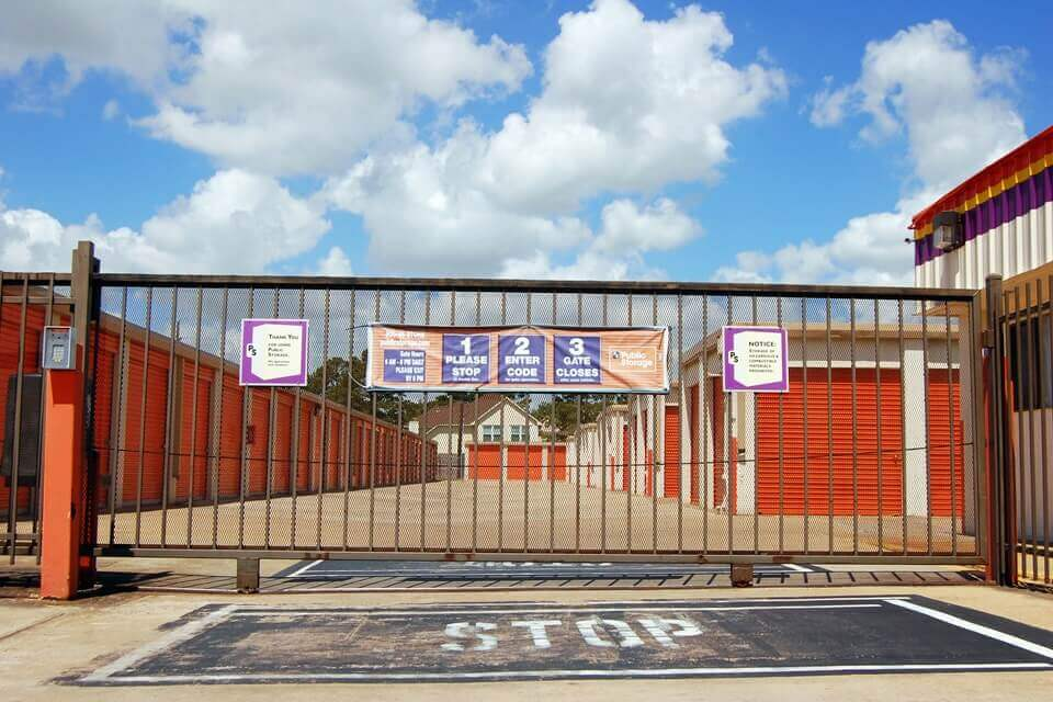 public storage 6502 highway 6 south houston tx 77083 security gate