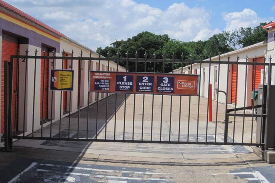 public storage 380 bolen road kennedale tx 76060 security gate