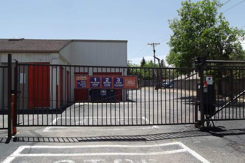 public storage 5500 w hampden ave denver co 80227 security gate