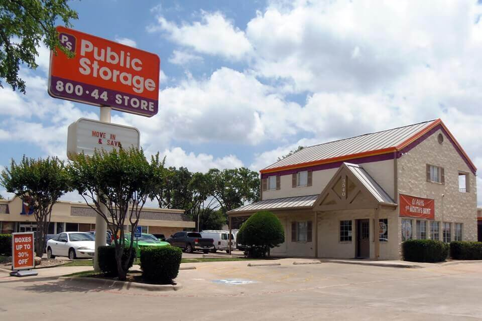 public storage 3540 inwood road dallas tx 75209 exterior