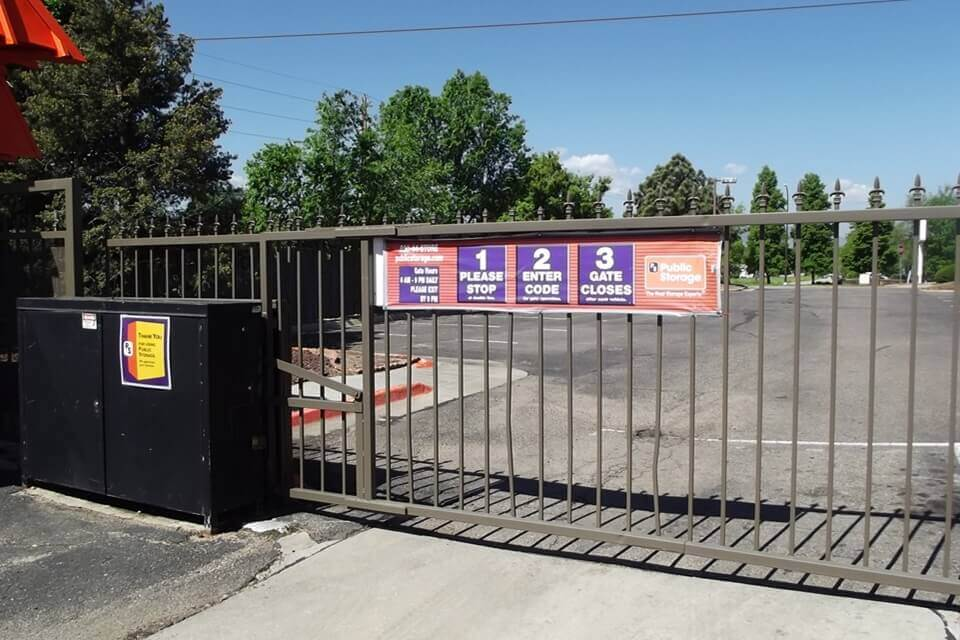 public storage 1398 simms street golden co 80401 security gate