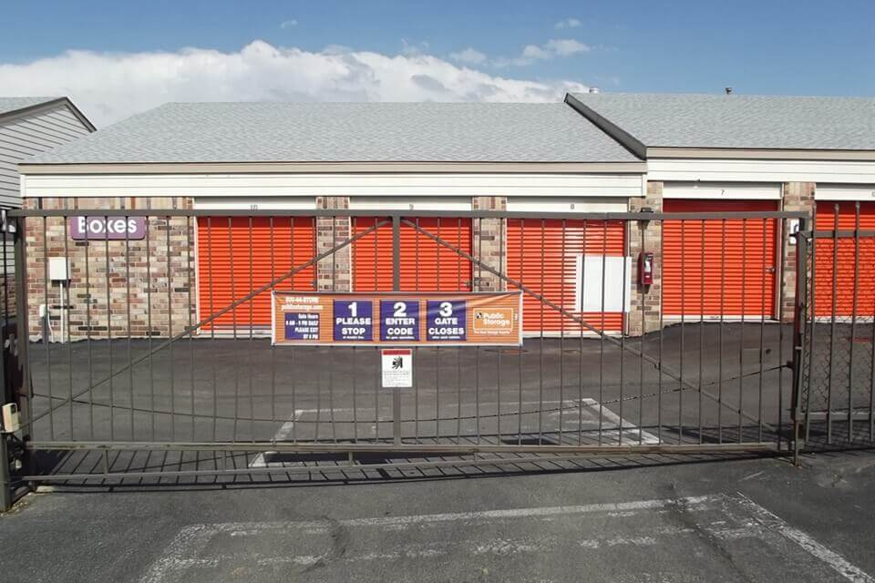 public storage 13999 west 64th ave arvada co 80004 security gate