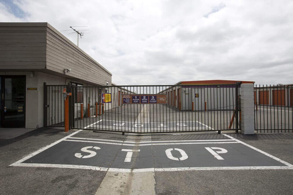 public storage 17952 gothard street huntington beach ca 92647 security gate