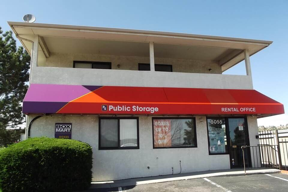 public storage 5055 centennial blvd colorado springs co 80919 exterior