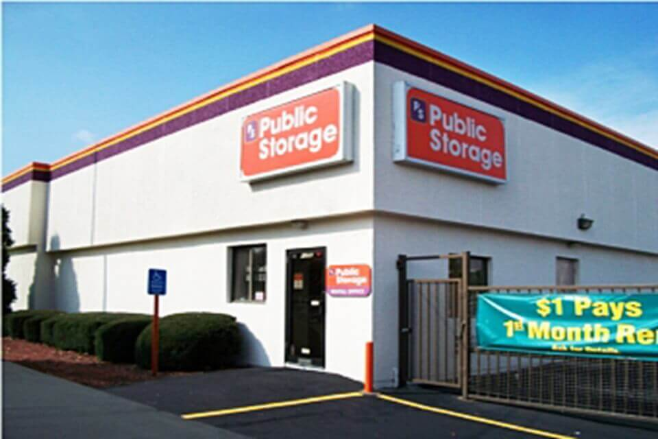 public storage 1296 kings highway cutoff fairfield ct 06824 exterior