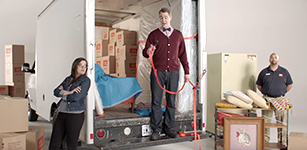 Public Storage teaches you how to pack a moving truck.